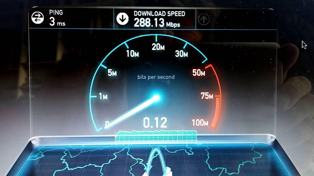 Vodafone Fibra 300 Speedtest Youtube