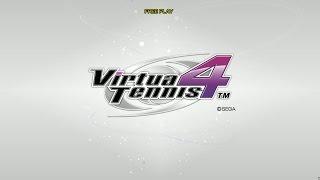 Virtua Tennis 4 Arcade gameplay