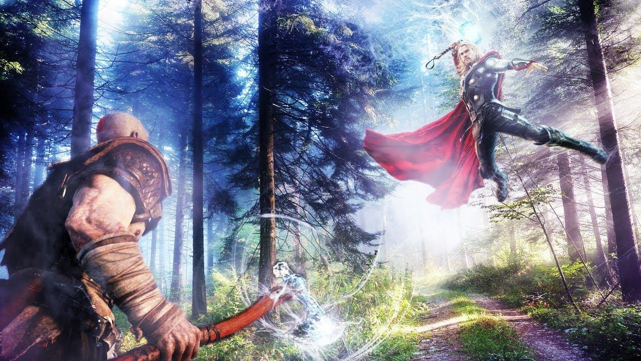 God Of War 5 Kratos Vs Thor Secret Ending Youtube