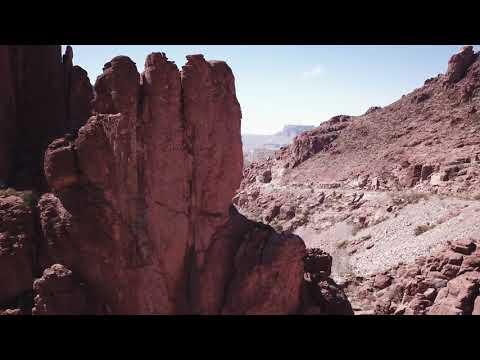 Canyon test shot east of Superior Arizona