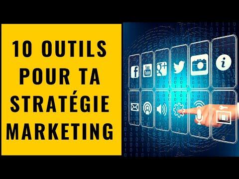 10 Outils pour ta stratégie marketing (digital)