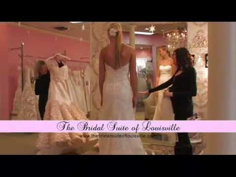 5db0327623a Bridal Suite of Louisville - YouTube