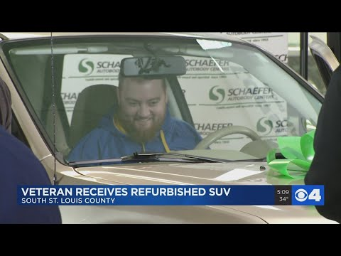 Kylie - GOOD VIBES: Veteran who lost arm in combat receives new car