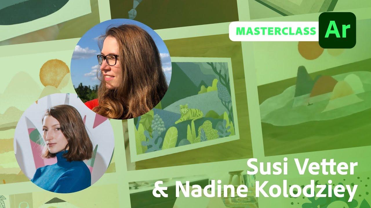 Augmented Reality Masterclass mit Susi Vetter und Nadine Kolodziey  Adobe Live