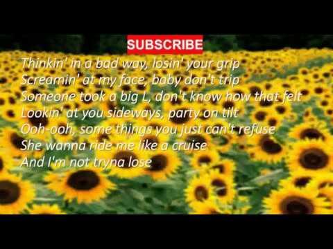 Post Malone - Swae Lee - Sunflower (Lyrics) (Spider-Man: Into The Spider-Verse)