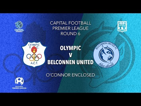 2019 Capital Football Premier League - U20's and 1st Grade Round 6 - Canberra Olympic v Belconnen FC