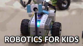 Incorporating robotics into early education! - Lego WeDo 2.0 @ Pepcom - CES 2016