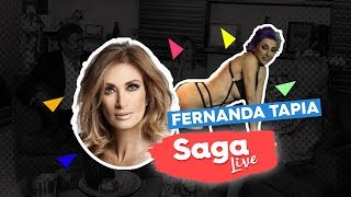 #SagaLive Fernanda Tapia, Ashley Madison y mesa de políticos con Adela Micha