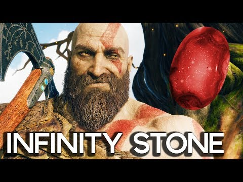 FIRST INFINITY STONE IN GOD OF WAR 4! Gameplay Walkthrough Part 48!! (PS4 PRO 60FPS)