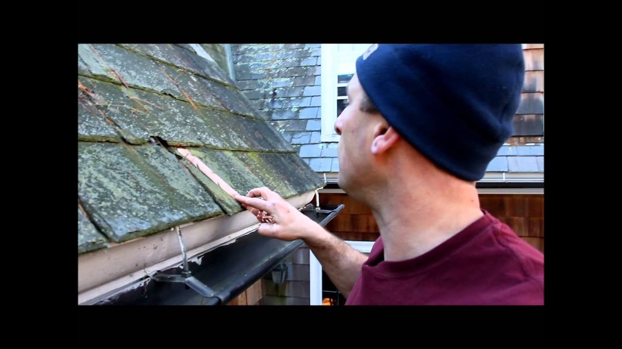 Installing A WarmlyYours Roof / Gutter Deicing System   YouTube