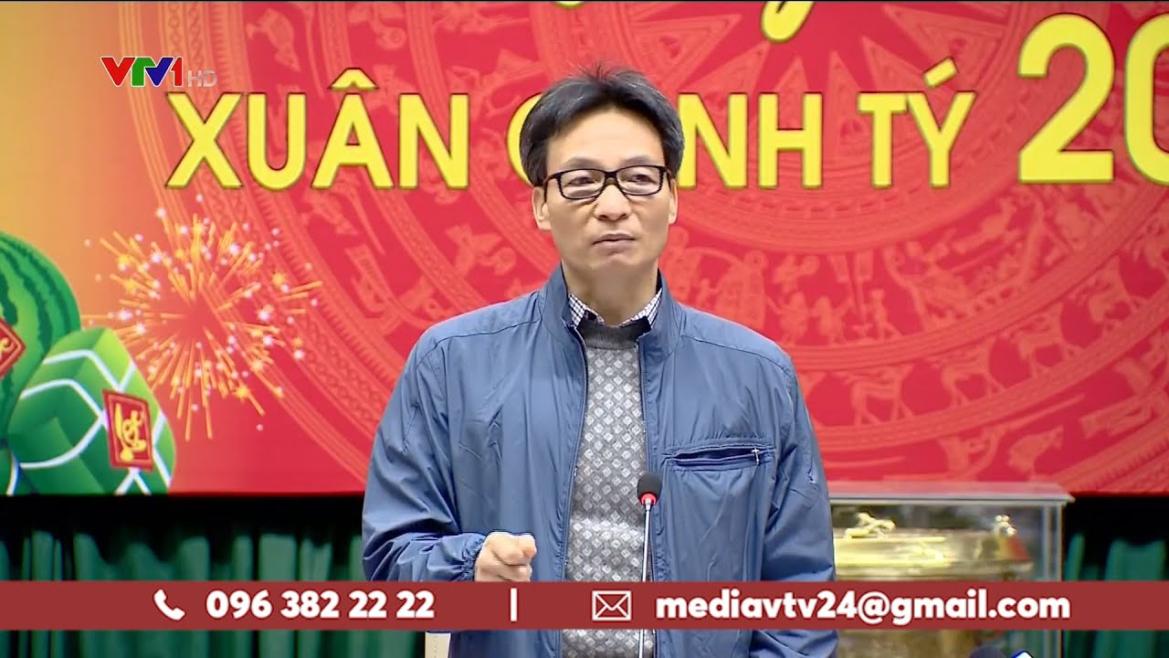 PTT Vũ Đức Đam họp khẩn về phòng chống dịch viêm phổi do nCoV | VTV24