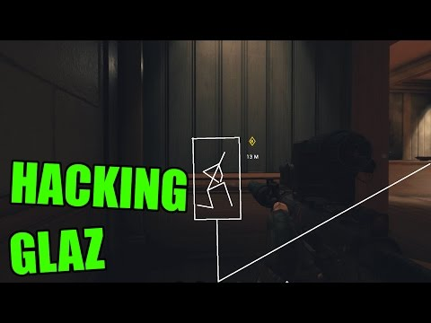 HACKING WITH GLAZ - Rainbow Six Siege Funny & Epic moments