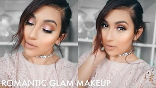 HOW TO: DRUGSTORE ROMANTIC GLAM MAKEUP | BEAUTYYBIRD