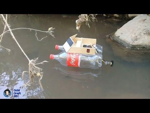 Cara Membuat Kapal Mesin Listrik Dari Botol bekas [I'ts Amazing]