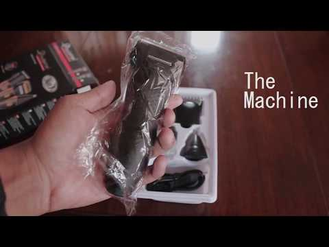 Unboxing Gemei GM-595 | 3 In 1 Hair Clipper And Trimmer