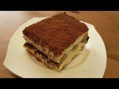 how to make a tiramisu for an army