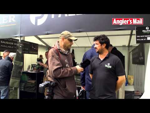 Longleat Fishing Show - Brian Gay interviews Gary Newman