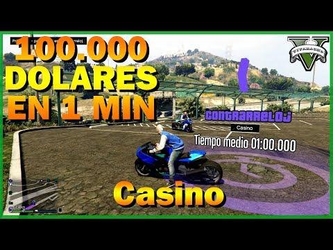 CONTRARRELOJ: Casino COMO GANAR 100.000 dolares en 1 minuto GTA V Online - 동영상