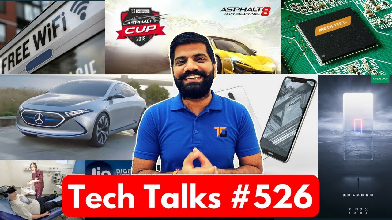 Tech Talks #526 - Public WiFi India, Tesla Car, Nokia 5.1 ...
