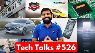 Tech Talks #526 - Public WiFi India, Tesla Car, Nokia 5.1 Plus, 3 Camera iPhone, MediaTek M70 5G