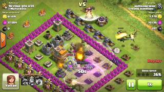 Clash Of Clans, Attack do dia rei bárbaro nv 2