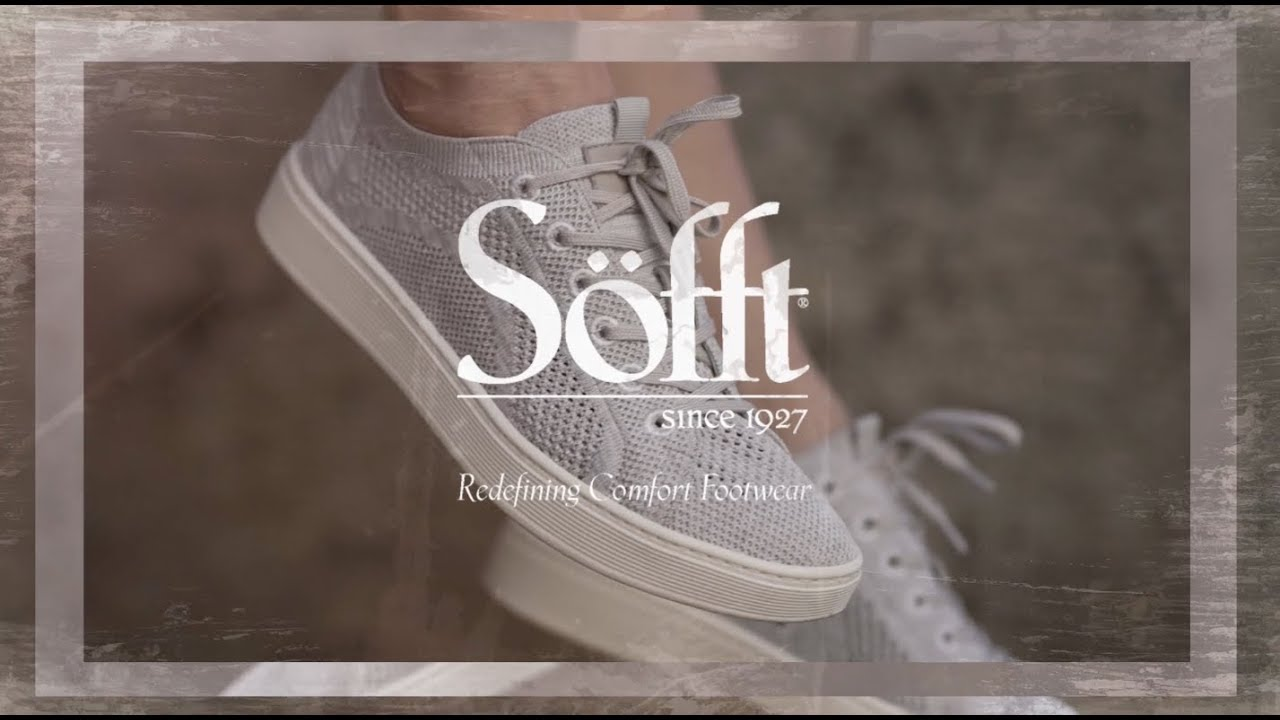 Sofft Shoes - The Somers Knit - YouTube