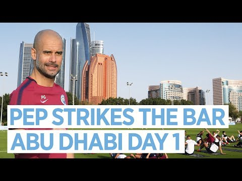 Man City in Abu Dhabi | Training Day 1