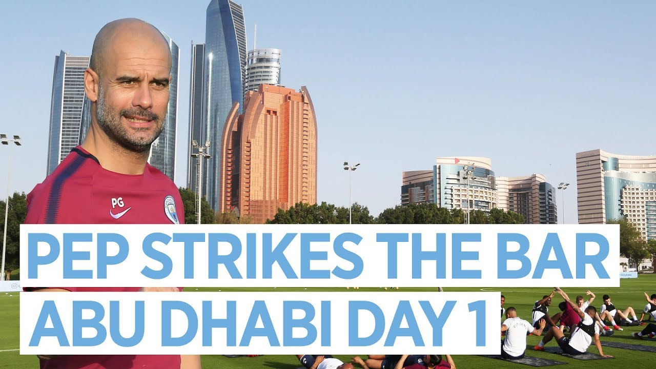 Man City in Abu Dhabi | Training Day 1 #1