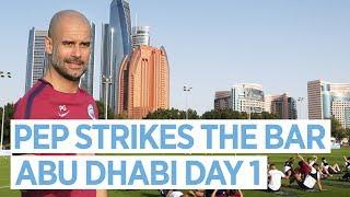 Man City in Abu Dhabi | Training Day 1
