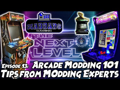 Arcade Modding 101 - Tips from Experts and Live Chat Q&A! Arcade1Up, Pinball (The Next Level: Ep 13) from Kongs-R-Us