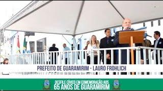 Desfile em comemoração aos 65 anos de Guaramirim