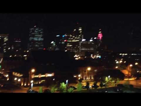 A brief video of a beautiful view of Downtown Columbus, Ohio 11-5-13