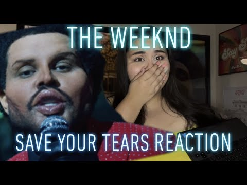 The Weeknd Save Your Tears Music Video REACTION