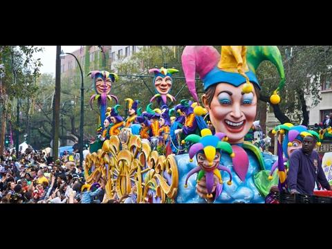 Mardi Gras New Orleans 2017 احتفالات ماردي غرا نيو أورلينز