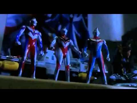 Ultraman Tiga, Dyna, Gaia - Macross Armageddon
