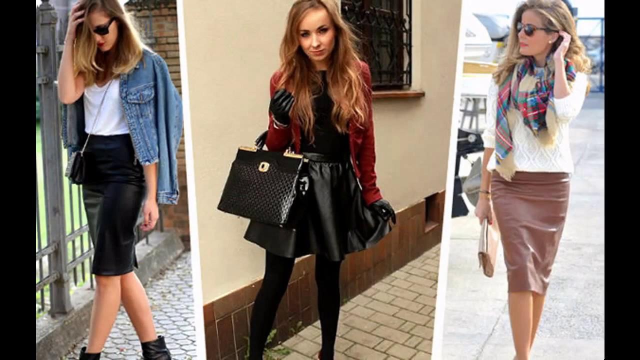 c388be768 Como combinar faldas con blusas - YouTube