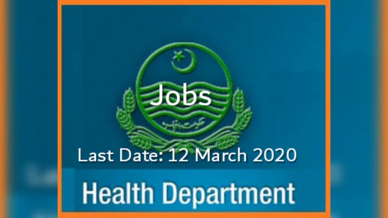Jobs in Health Department Punjab Jobs 2020, DHA Lodhran ...