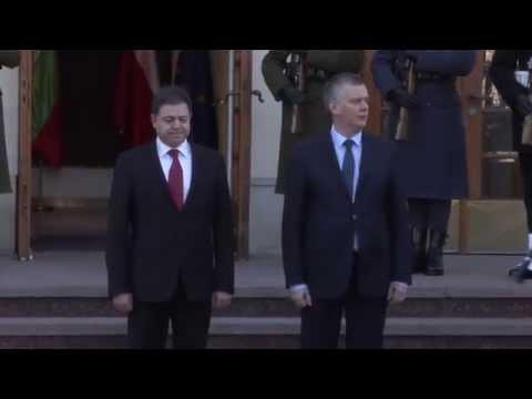 Minister obrony Bułgarii w Polsce