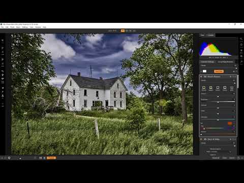 ON1 Workflow – Creating Mood by Blending Black and White with Color