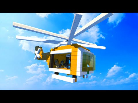 WHO HAS THE BEST HELICOPTER CHALLENGE! (Scrap Mechanic)