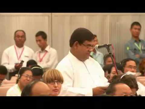 U Shwe Maung & Rakhine State Issues_Sep-2012