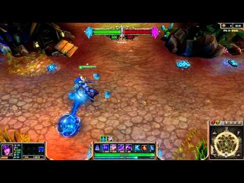 Atlantean Syndra Skin Spotlight League of Legends
