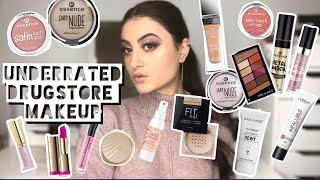 UNDERRATED DRUGSTORE MAKEUP | Makeup That YOU Need | Drugstore Makeup That Deserves More Hype