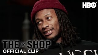 Todd Gurley's Second-Day Soreness | The Shop | HBO