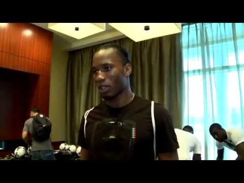 Didier Drogba at World Soccer Masters Miami 2012  website video