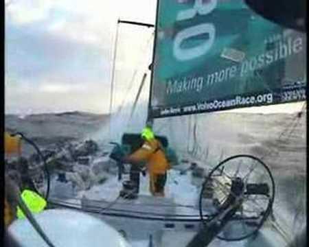 ABN AMRO 2 footage from Volvo Ocean race.