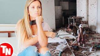 Youtuber brasileira tem casa devastada por furacão Irma