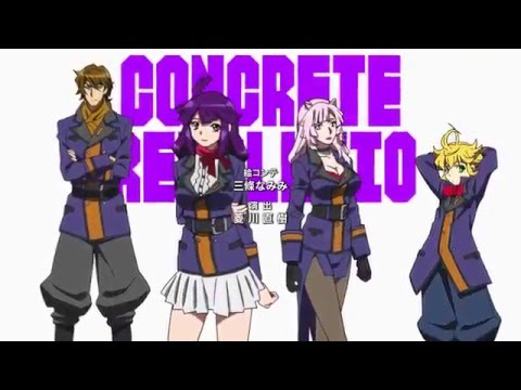 Concrete Revolutio: THE LAST SONG Ending