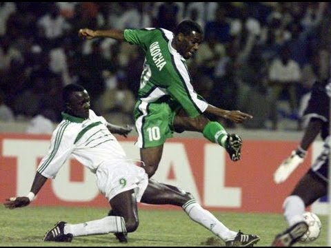 Nigeria vs Senegal 2000