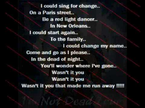 Pink - Runaway  [Lyrics]